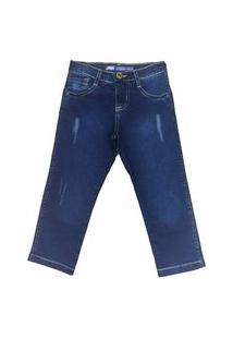 Calça Jeans Masculina Bore Jeans Infantil