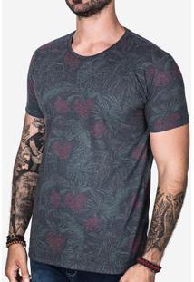 Camiseta Eco Floral 100708