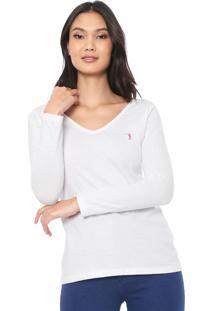 Camiseta Aleatory Básica Branca