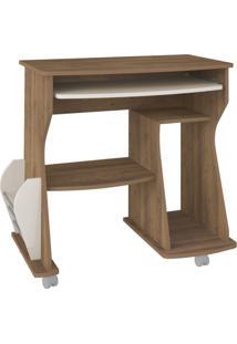 Mesa Para Computador Cem Pinho E Off White