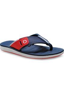 a87fb64b7 Chinelo Masc Infantil Grendene 10995 Cartago Malaga Branco Azul Vermelho