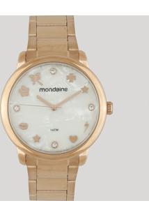 Relógio Analógico Mondaine Feminino - 53685Lpmkre2 Rosê - Único