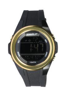 Relógio Digital Speedo 65097L0 - Feminino - Preto/Ouro