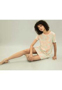 Vestido T-Shirt Estampa Bells Beach - Lez A Lez