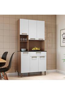 Cozinha Compacta Tannat Gold 6 Pt 1 Gv Sevilha E Branca