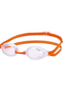 Óculos Para Natação Sr-3N Cristal Com Laranja Swans