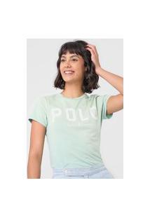Camiseta Polo Ralph Lauren Logo Verde
