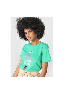 Camiseta Cantão Cultivo Verde