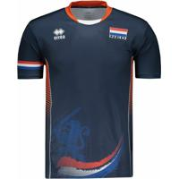Camisa Holanda Vôlei Away 2017 Errea Masculina - Masculino dd9f5ee49bdd7