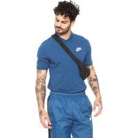 aa5fbb57ef473 Camiseta Nike Sportswear Reta M Nsw Ce Polo Match Azul