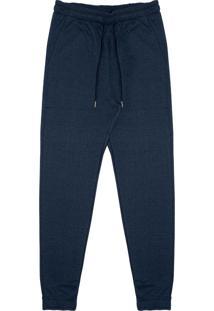 Calça Masculina Moletinho Azul
