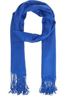 Xale Le Souk Franja Azul