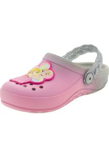 Clog Infantil Feminino Fairytale Rosa Grendene Kids - 21747