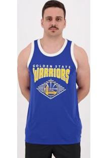 Regata Nba Golden State Warriors Stripe Masculina - Masculino