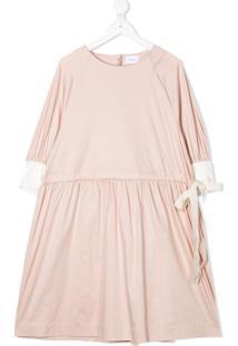 Unlabel Vestido Bluebell Com Amarração Lateral - Rosa
