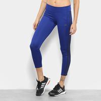 1ae7e4ab9 Calça Legging Adidas Designed 2 Move Feminina - Feminino-Azul+Preto