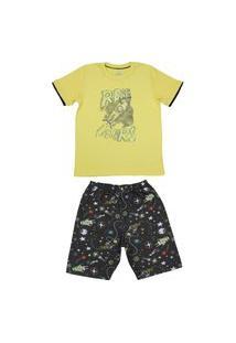 Pijama Curto Brilha No Escuro Abrange