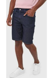 Bermuda Jeans Dc Shoes Reta Everyday Azul-Marinho