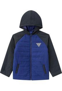 Jaqueta Infantil Masculina Azul