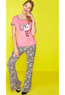 Pijama Visco Glitter
