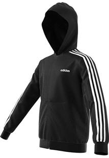 Jaqueta Moletom Infantil Adidas Essentials 3 Stripes Masculina - Masculino
