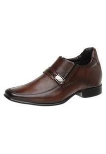 Sapato Linha Alth Masculino Rafarillo Você + Alto 7Cm Mogno 53004 Mogno