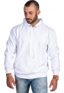 Casaco Moletom Blusa De Frio Selten Branco