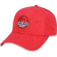 Boné 940 Chicago Bulls Nba Aba Curva Snapback New Era - Masculino-Vermelho 673f1e407d6