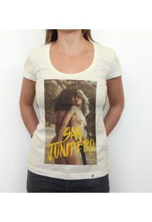 San Junipero - Camiseta Clássica Feminina