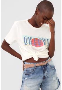 Camiseta Oh, Boy! New Off-White
