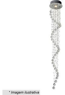 Plafon Spirale- Cristal & Inox- 160X?Ø25Cm- Bivohevvy