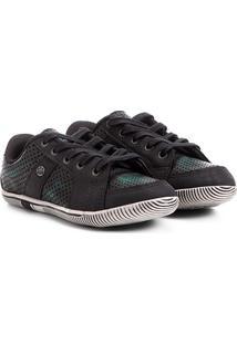 Sapato Infantil Klin Flyer Masculino - Masculino-Verde+Preto