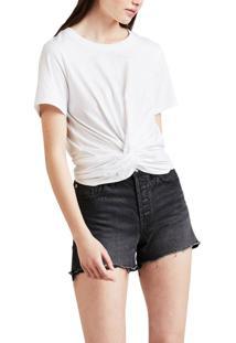 Camiseta Levis Twist Front - 00000 Branco