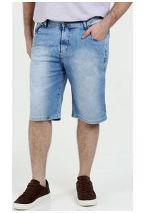 Bermuda Masculina Jeans Plus Size Razon