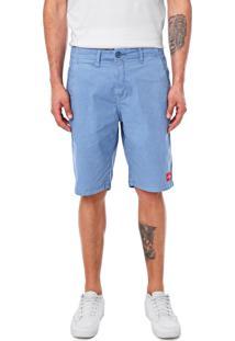 Bermuda Calvin Klein Jeans Chino Lisa Azul