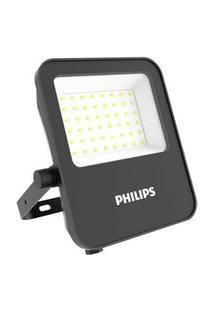 Refletor De Led Philips 10W Ip65 950 LúmensLuz Amarela 3000KBivolt