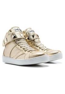 Sneaker K3 Fitness Single Dourado