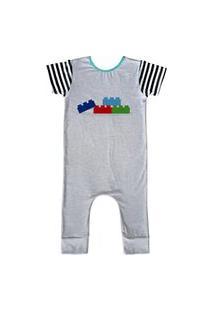 Pijama Longo Comfy Blocos