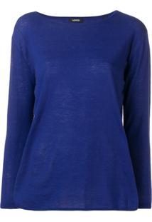 Aspesi Suéter Clássico - Azul