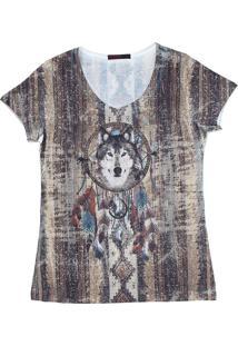 Camiseta Tassa Marrom