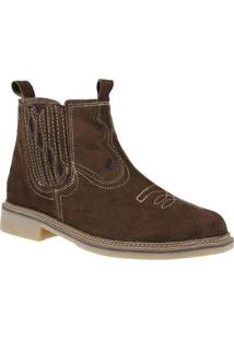 Bota Cow Way Masculina - Masculino-Marrom
