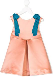 Hucklebones London Vestido 'Bodice' - Rosa