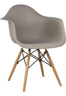 Cadeira Marrom Nude Charles Eames Wood Daw Em Pp