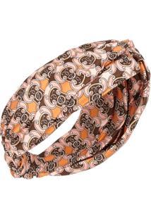 Fendi Headband Com Estampa - Rosa