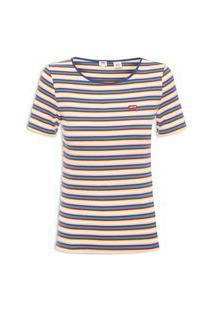 Camiseta Feminina Honey - Azul