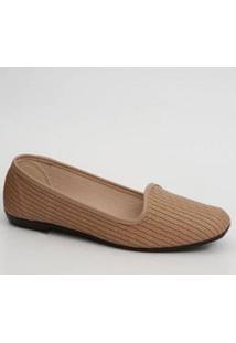Sapatilha Feminina Slipper Textura Moleca