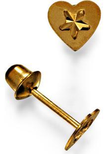 Brinco Em Ouro 18K De Perola - Br14446