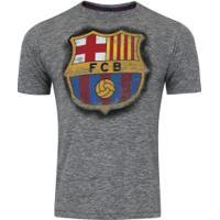 cab33b167c643 Camiseta Barcelona Dieguito - Masculina - Cinza Escuro