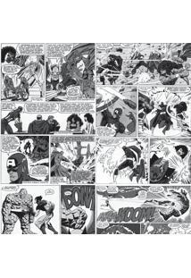 Papel De Parede Adesivo Quadrinhos Marvel Pb (0,58M X 2,50M)
