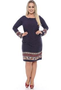 Vestido Túnica Plus Size - Domenica Solazzo